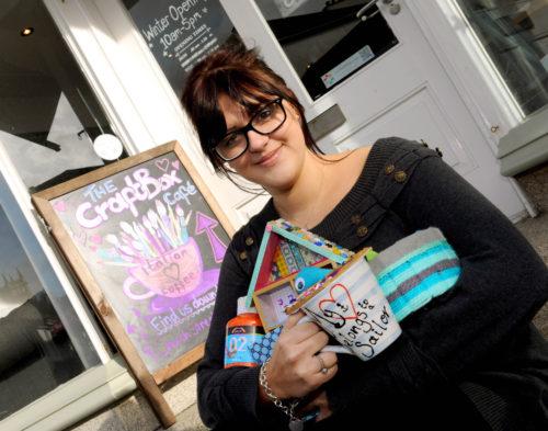 The Craftbox Cafe, April Claire's brainchild