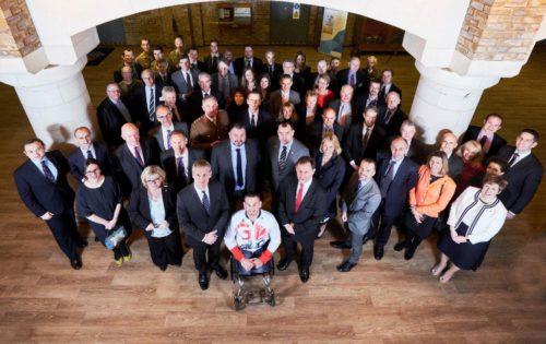 Gold Award Alumni Group launch at HMS President